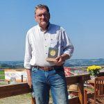 IGV Münze in Gold an Stephan Vierhaus verliehen